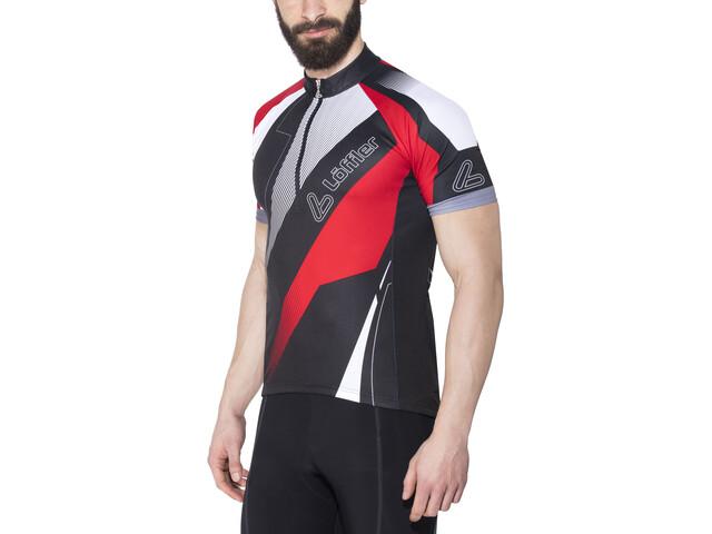 Löffler HZ Bike Jersey Shortsleeve Men red